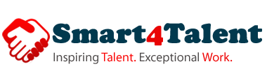 Smart4talent inspiring talent Exceptional work Logo