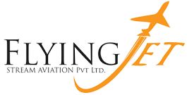FLYING JET AVIATION Logo