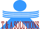 T & A Solutions Logo