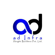 A D Infra Height Builders Logo